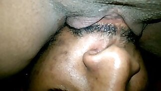 licking sucking the cream out this pussy