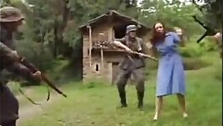 Teen Fucked by Perv Soldier