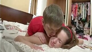 Russian Brother Punishes Sister Anal