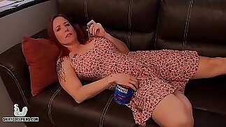 Stoner Mom Truth or Dare with Son Shiny Cock Films