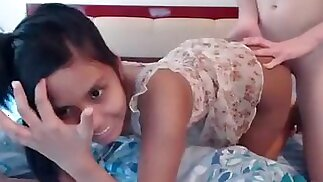 belleanddaniel amateur record on 05/29/15 15:00 from Chaturbate